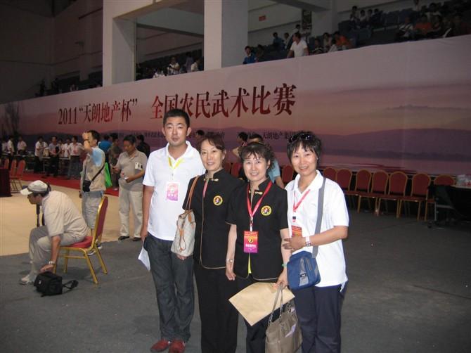 北体大教授竺玉明老师和青岛体育学校吴秀美老师与中